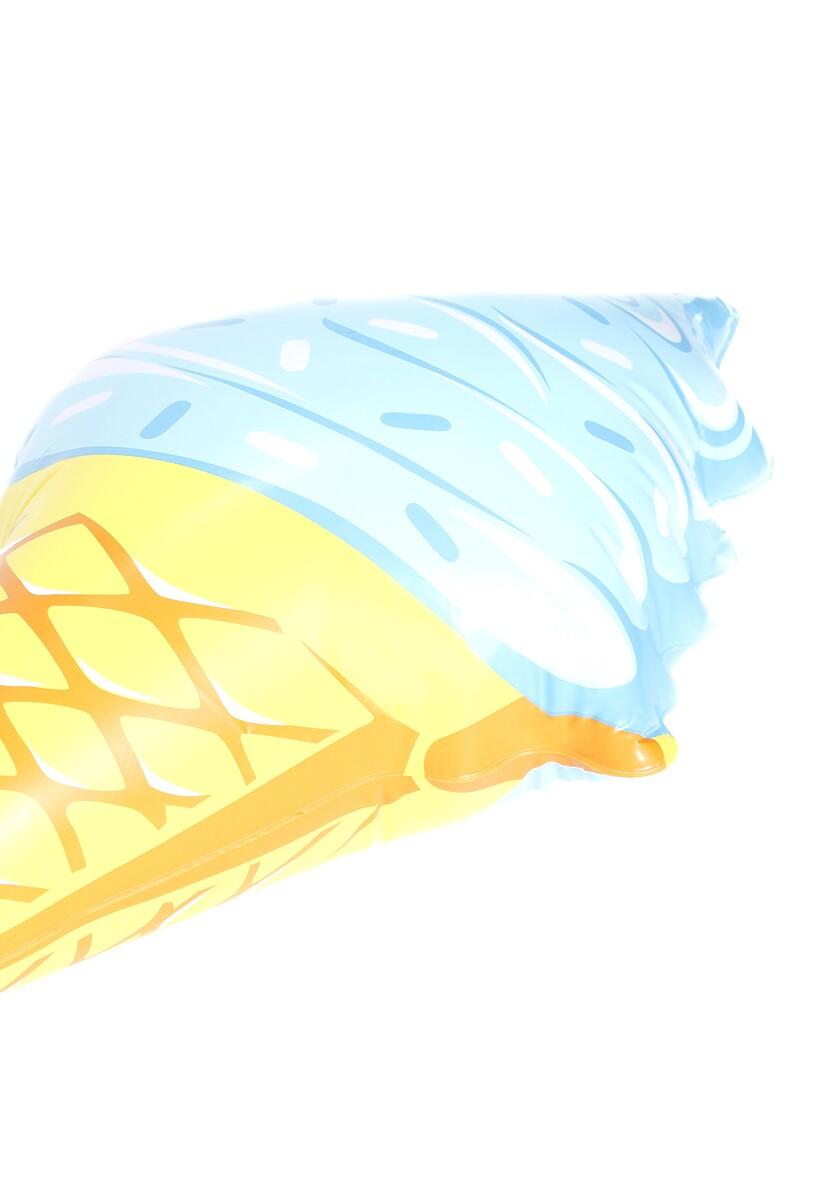 Niebieski Materac Blue Ice