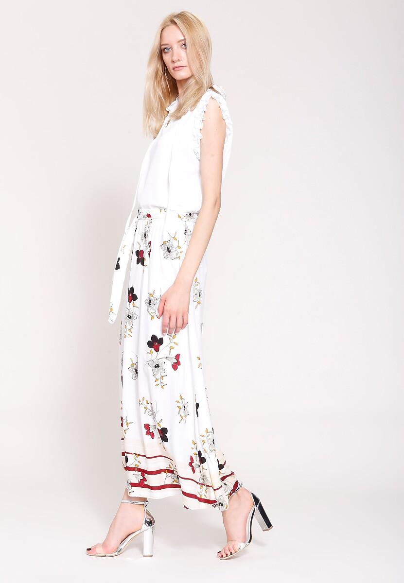 Biała Spódnica Russian Doll