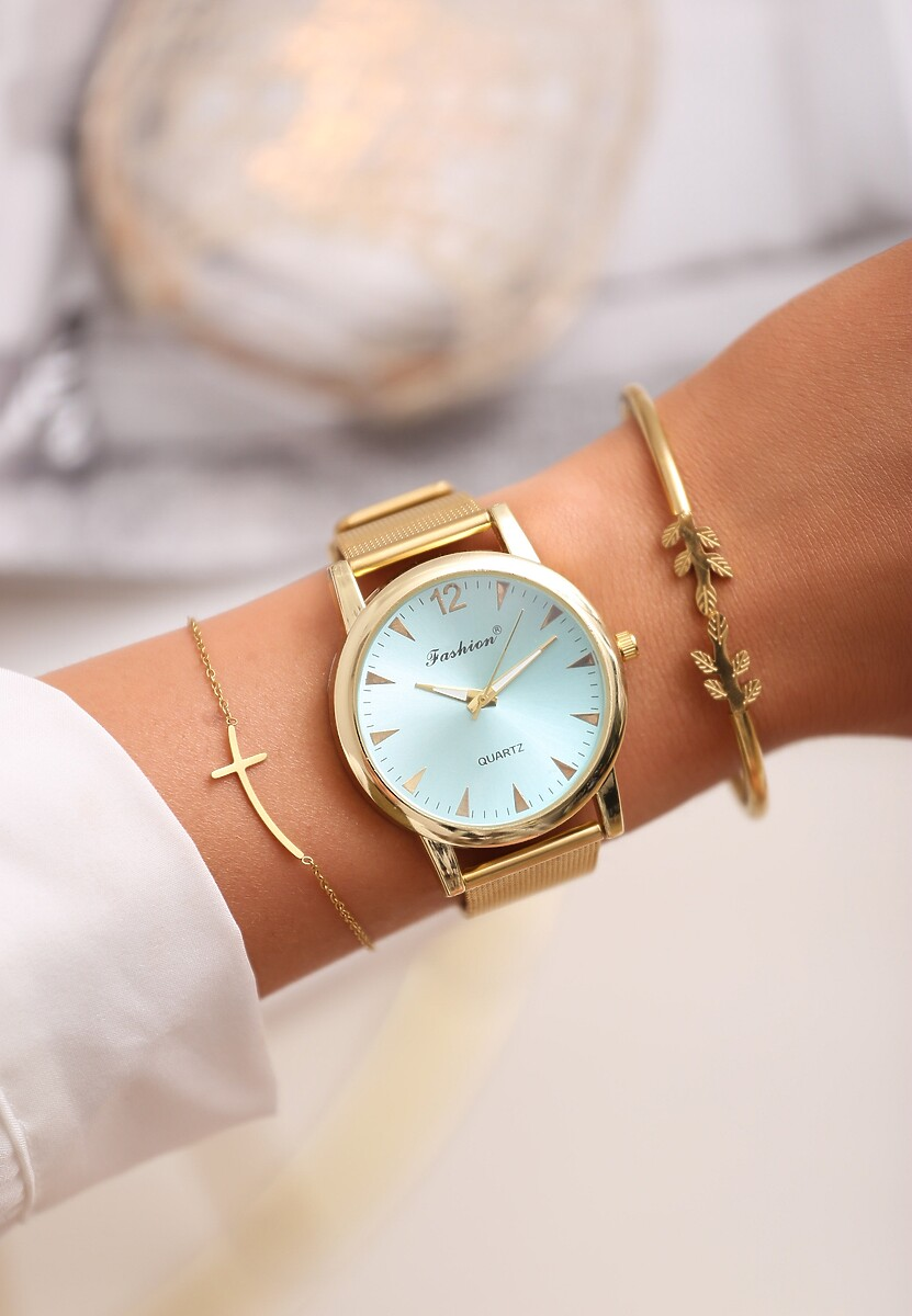 Niebiesko-Złoty Zegarek Land of Confusion