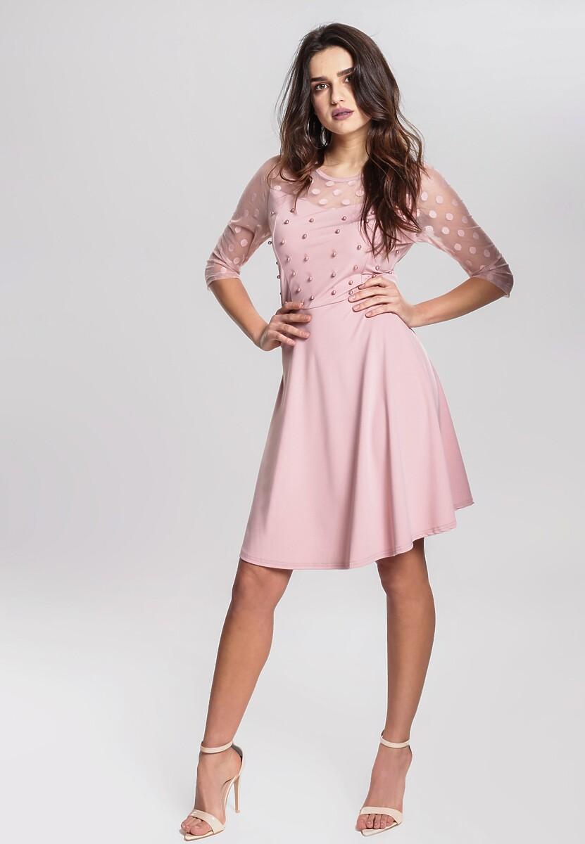 Różowa Sukienka Lively Dance