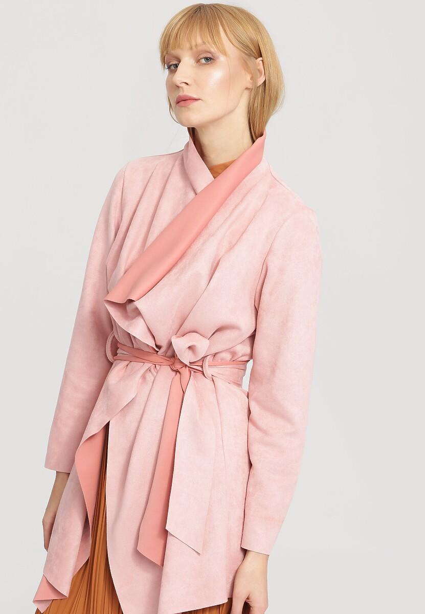 Różowy Płaszcz Recall It