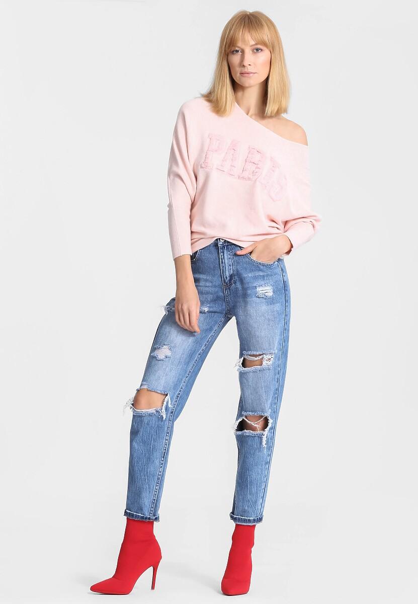 Różowy Sweter Seamlessly