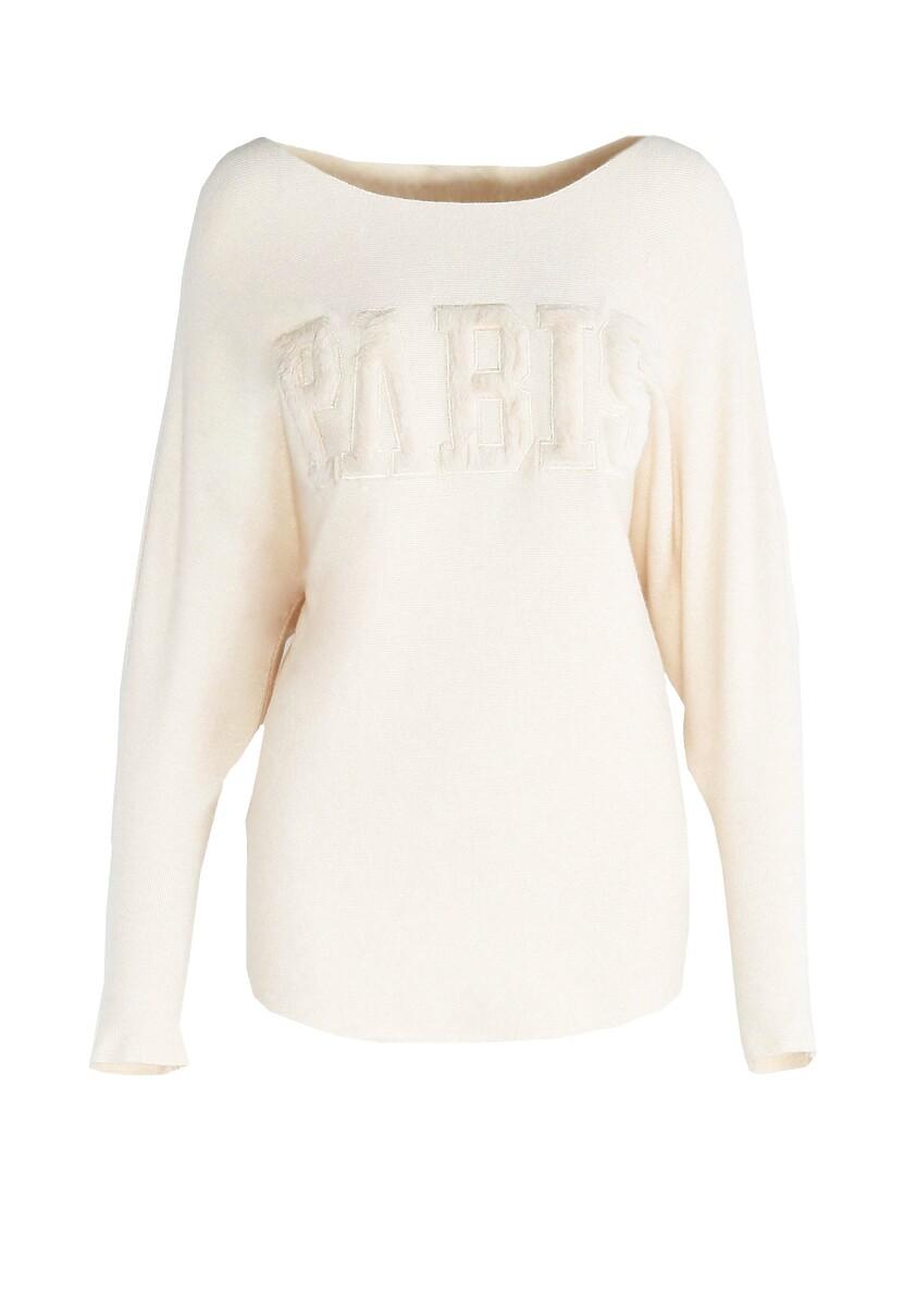 Kremowy Sweter Seamlessly
