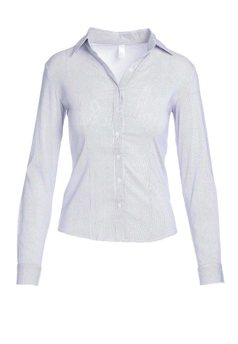 Biało-Granatowa Koszula Foreverness