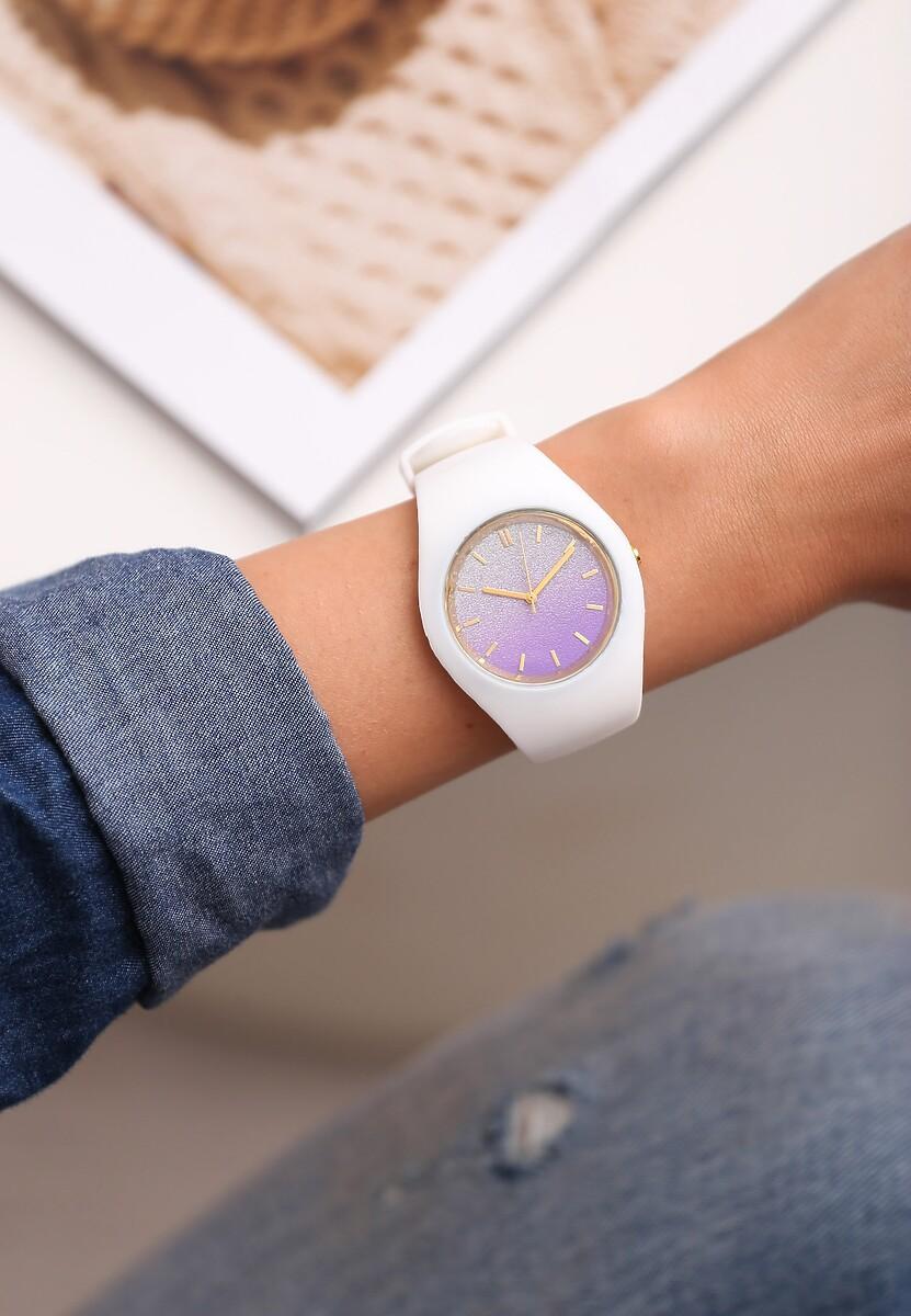 Biały Zegarek Yielding