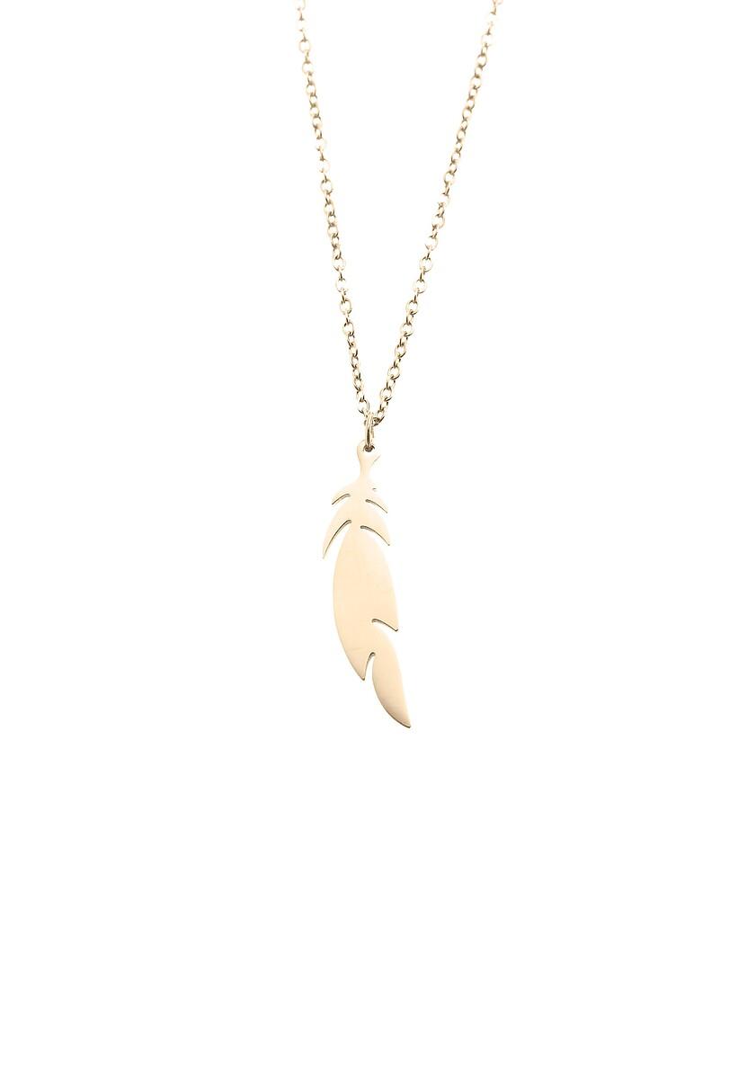Złoty Naszyjnik Magic Feather