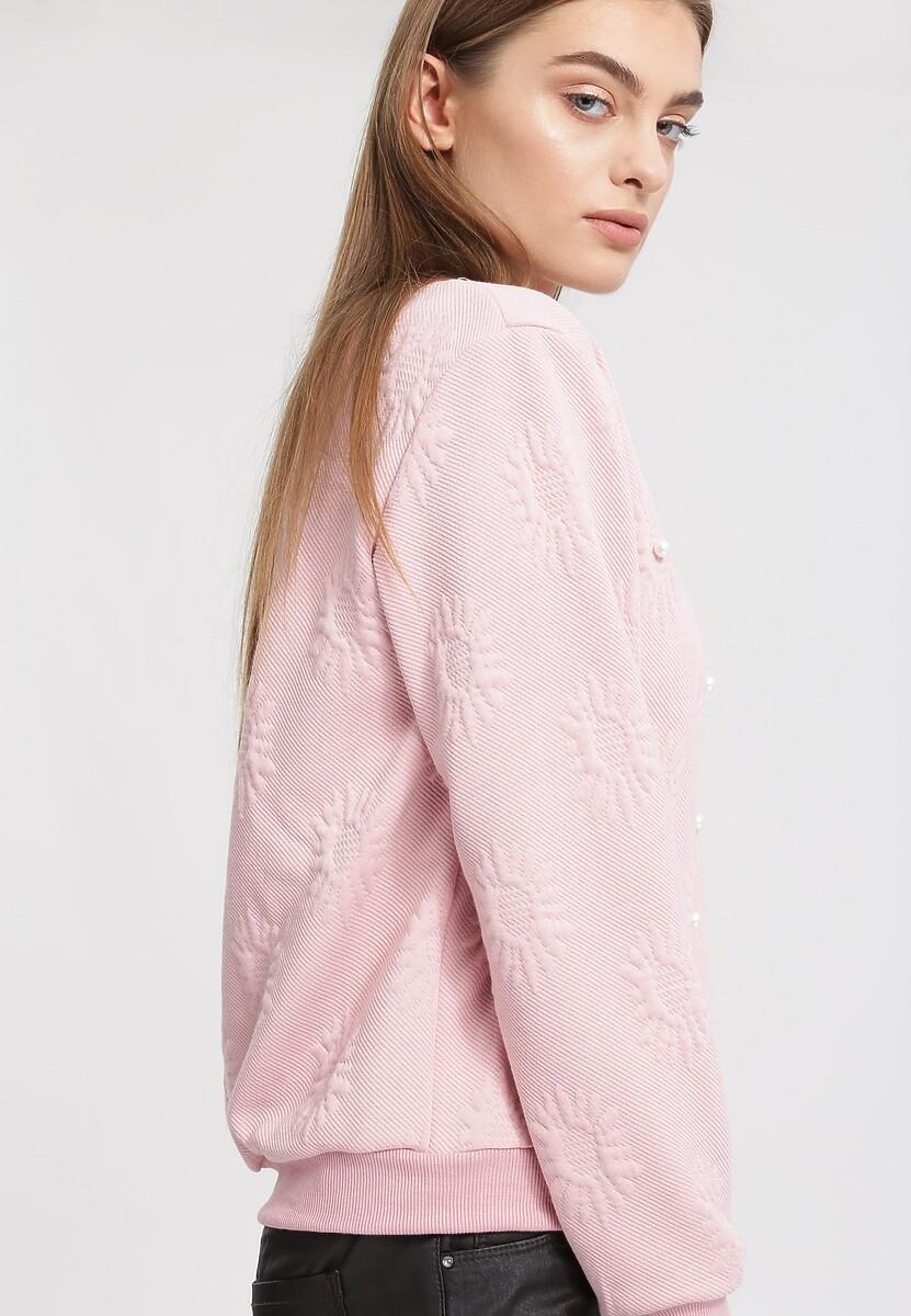 Różowa Bluza White Pearl