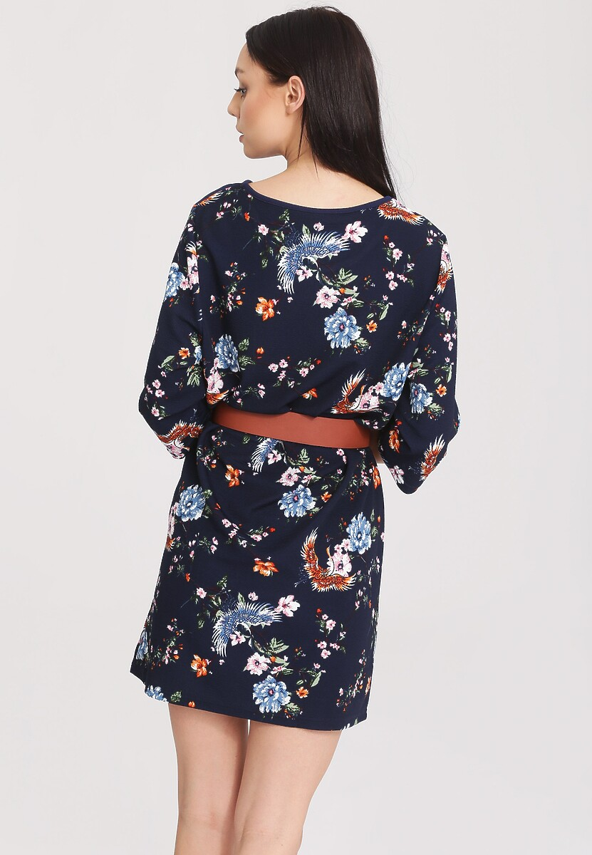 Granatowa Sukienka Discernment