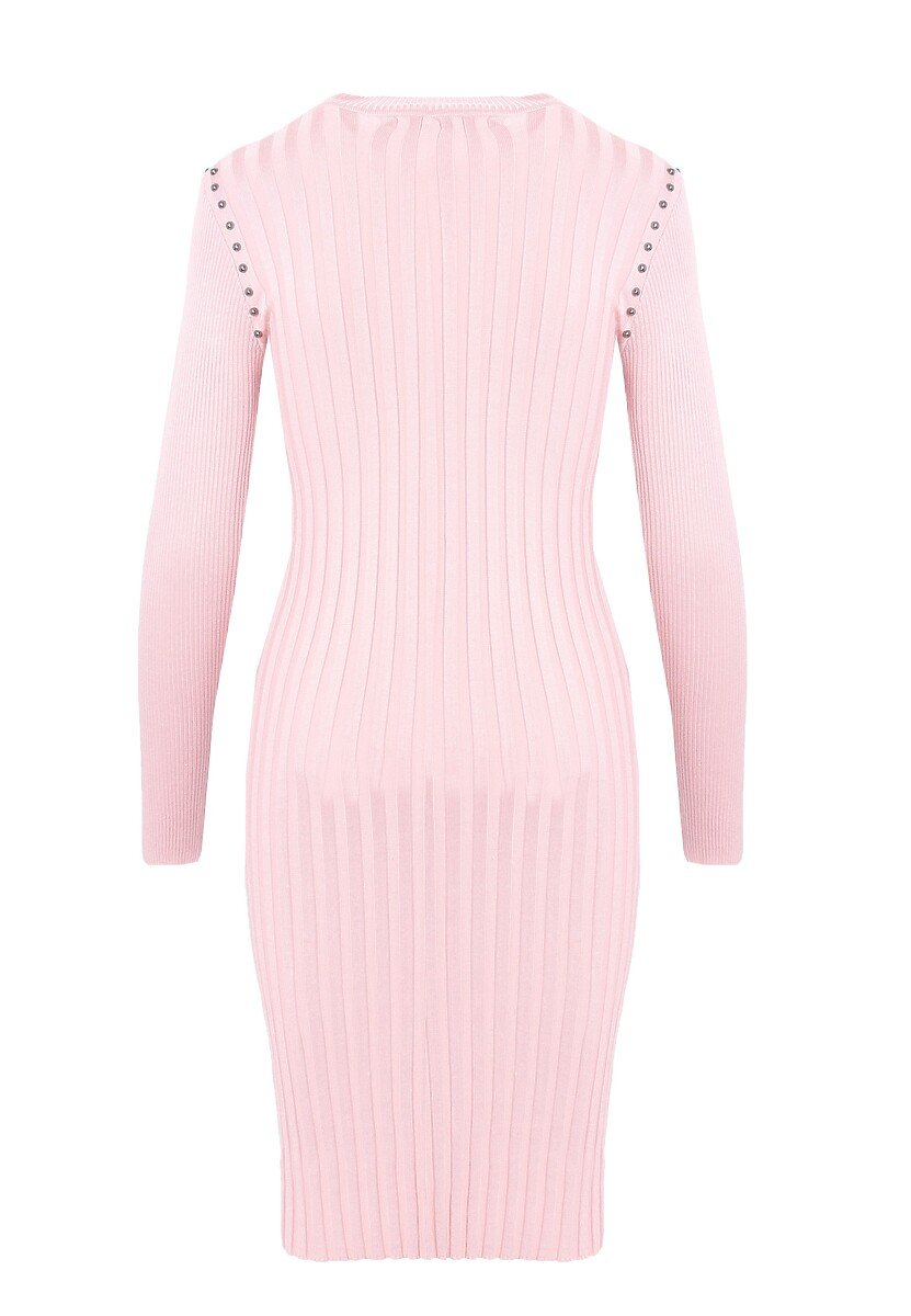Różowa Sukienka Powder Grey