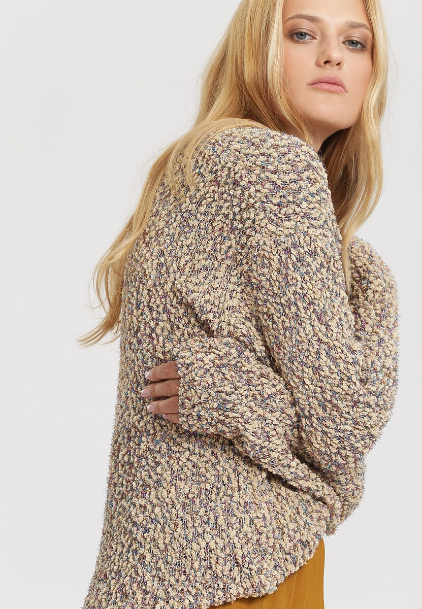 Beżowy Sweter I Wanna Be Yours