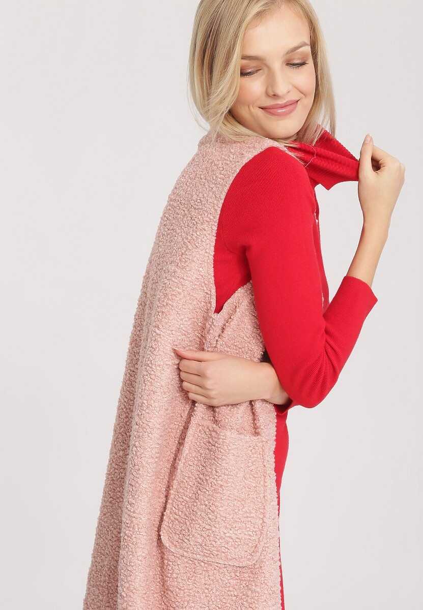 Różowa Kamizelka Follow Your Heart