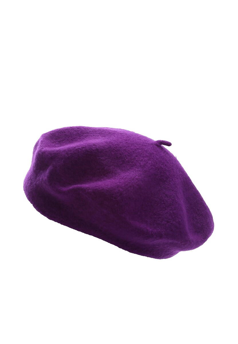 Fioletowy Beret It's Adorable!