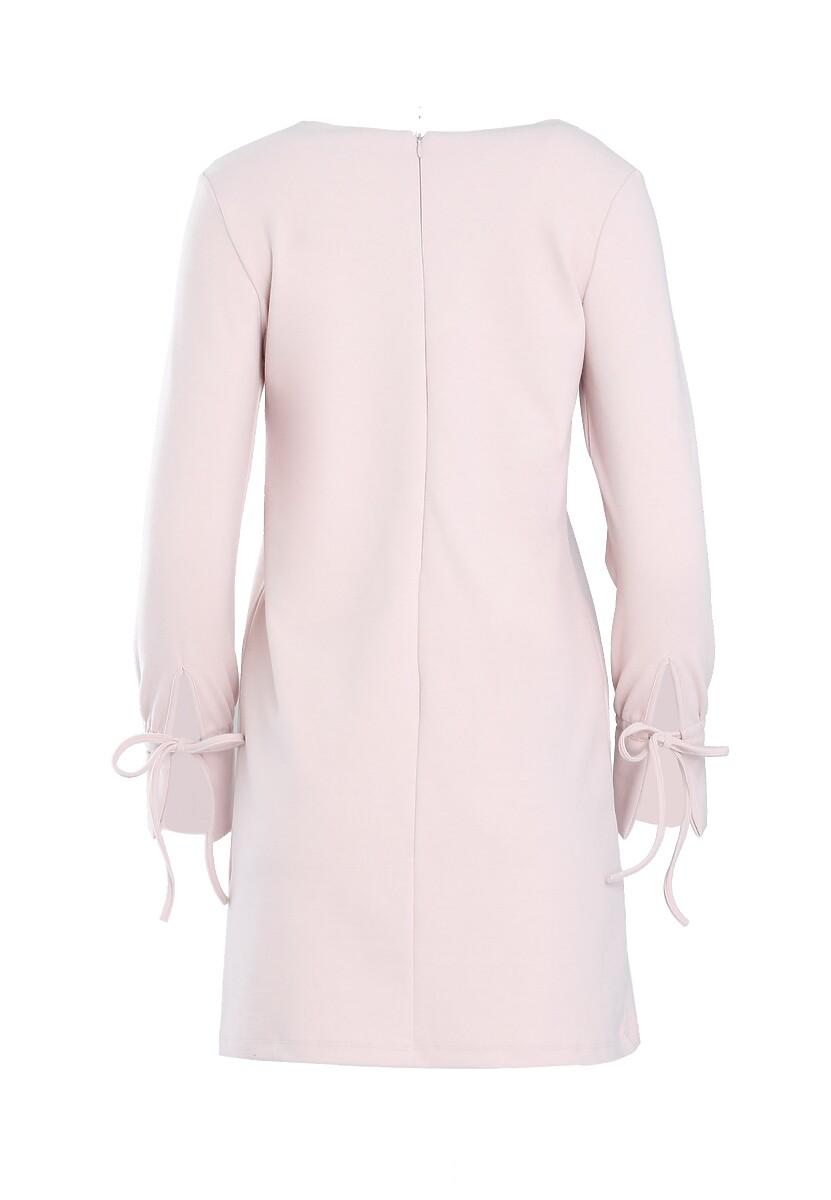 Jasnoróżowa Sukienka Cognition