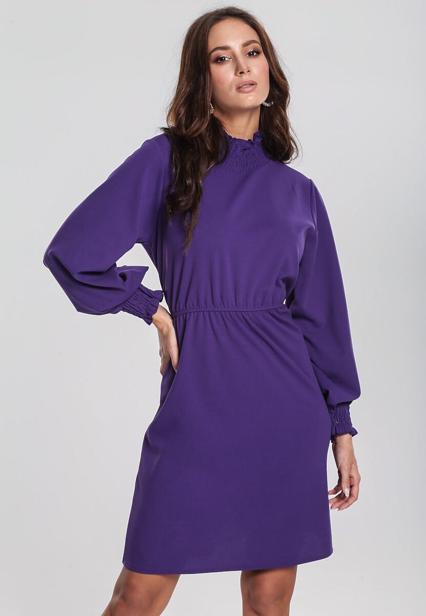 3a9a92b584 Fioletowa Sukienka Forecast w Renee.pl
