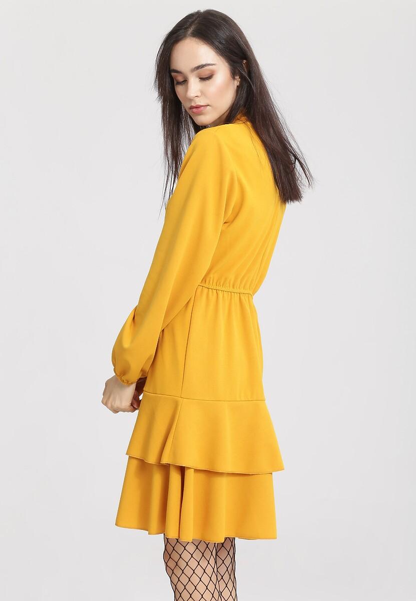 Żółta Sukienka I'm Sleeping