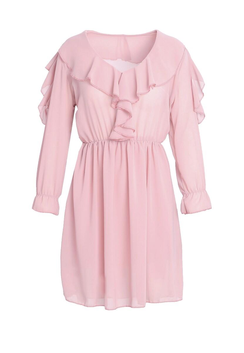 Różowa Sukienka Another Girl