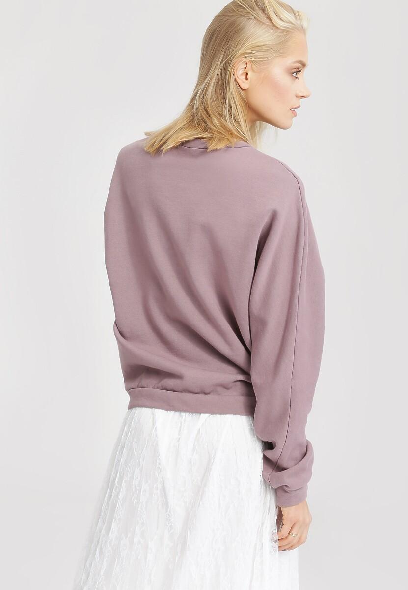 Ciemnoróżowa Bluza Flexible
