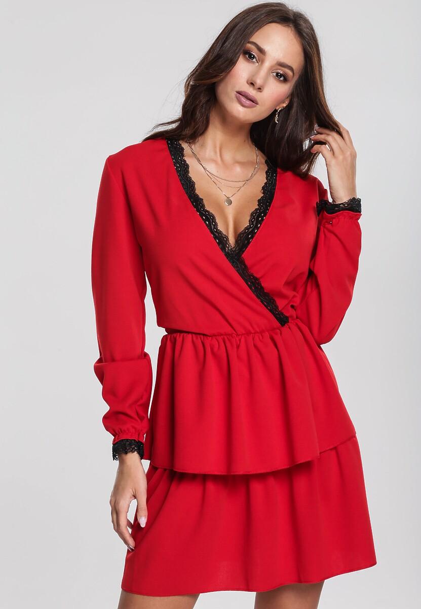 Czerwona Sukienka Feckless