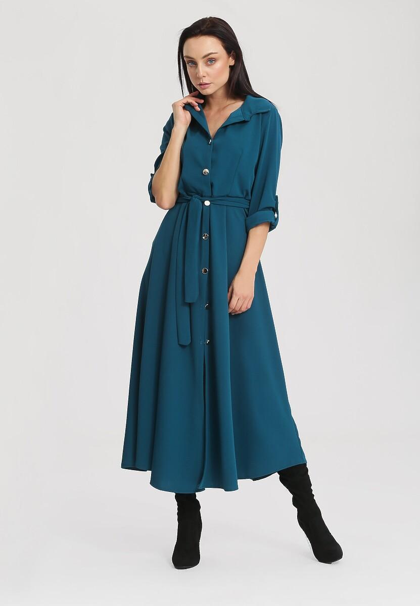 Niebieska Sukienka Determination