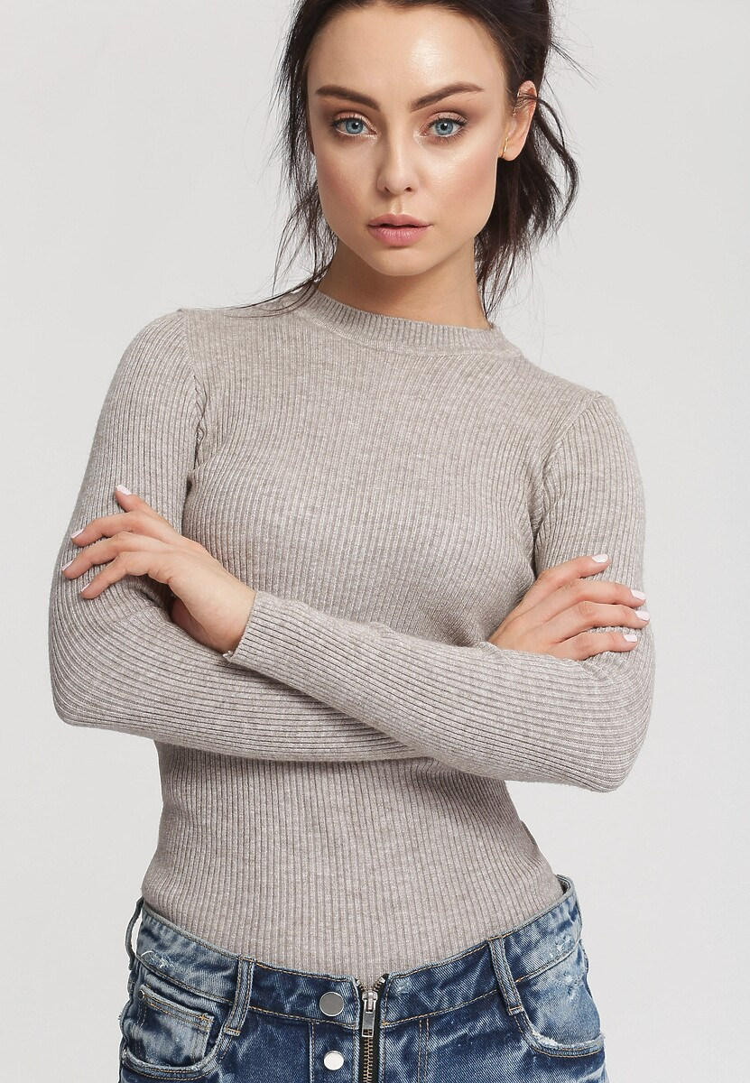 Khaki Sweter Burnished