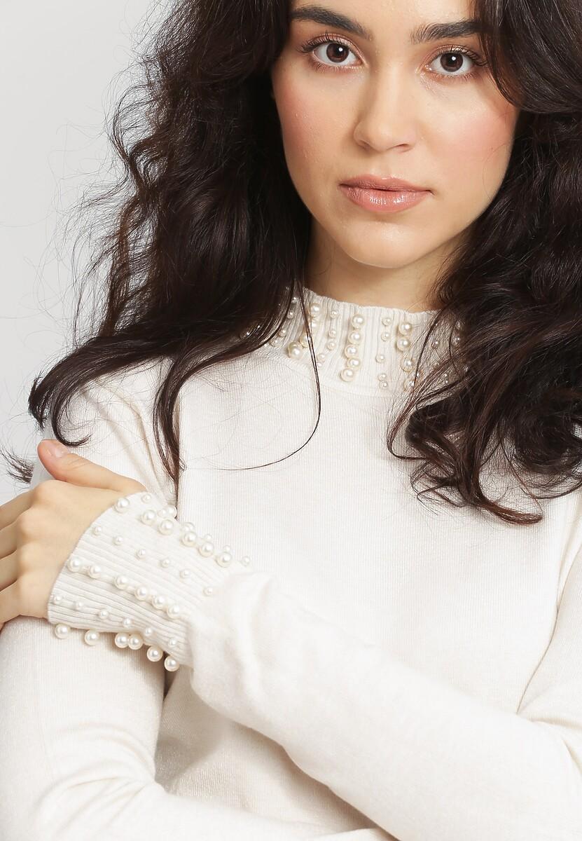 Kremowy Sweter Remember