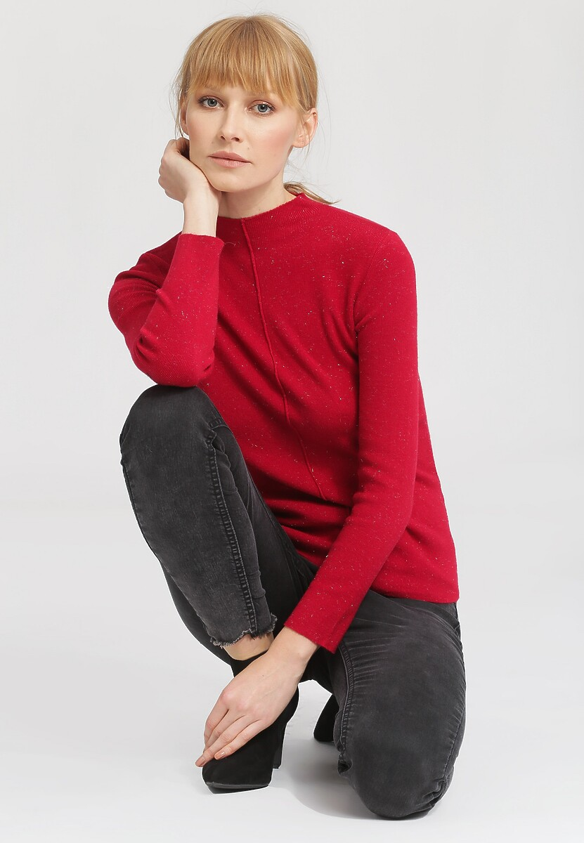 Czerwony Sweter Gind