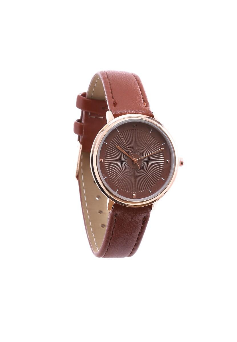 Brązowy Zegarek Good-Natured