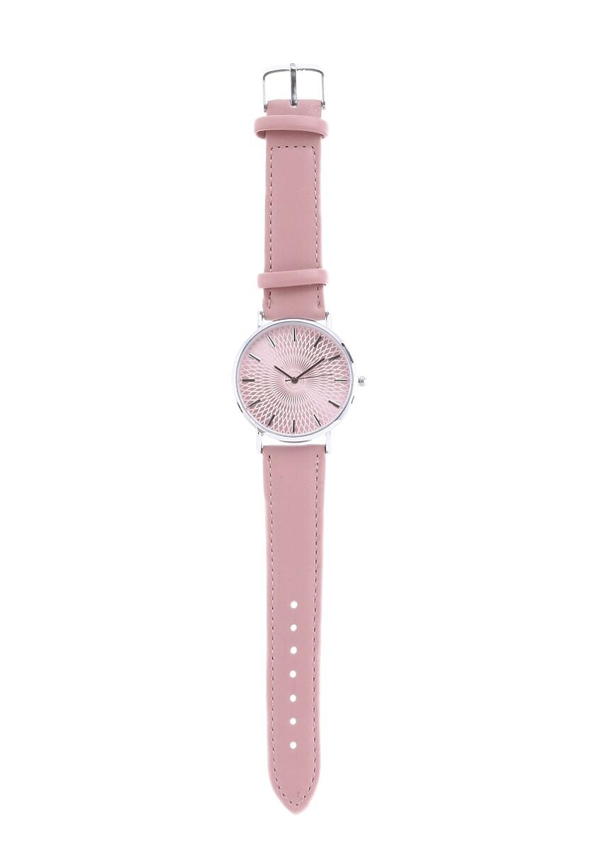Rózowy Zegarek Miser