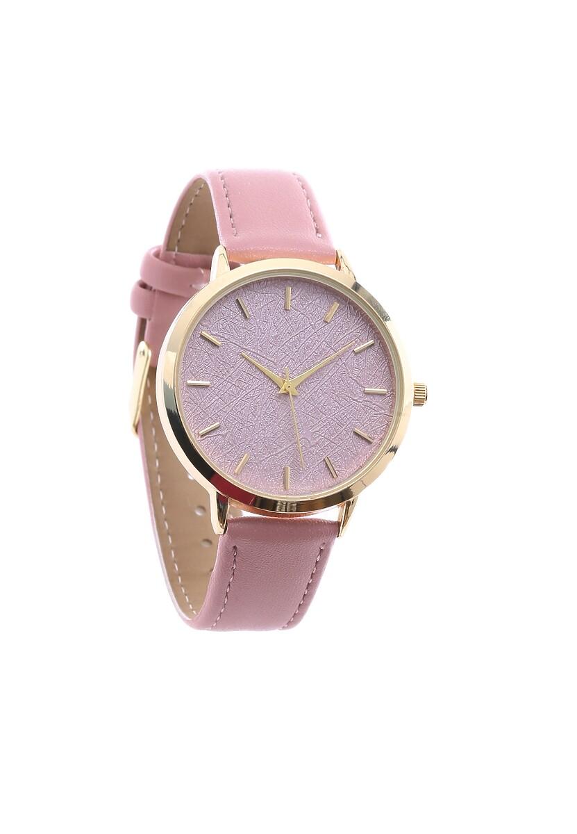 Różowy Zegarek Preprint
