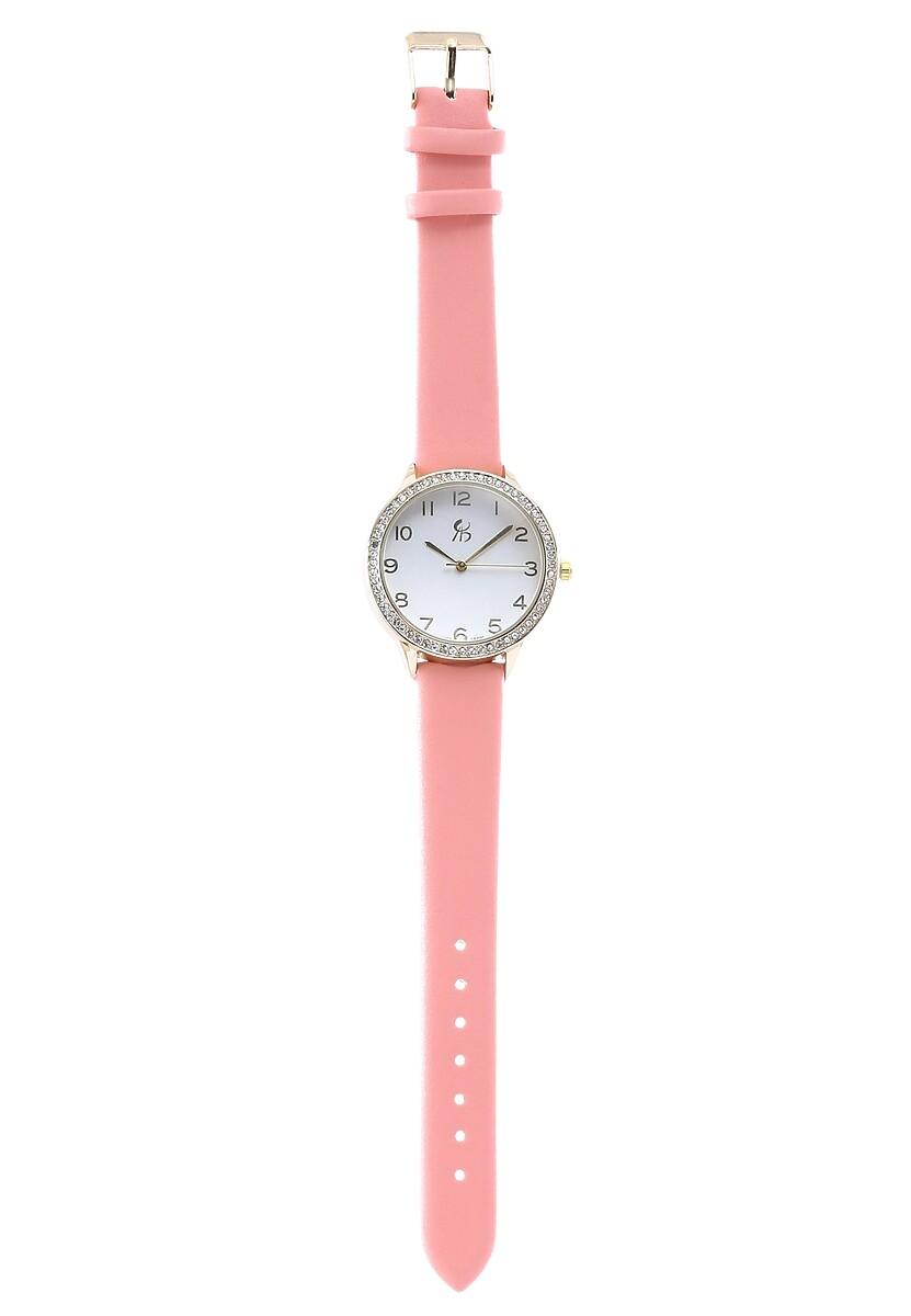 Różowy Zegarek New Rock