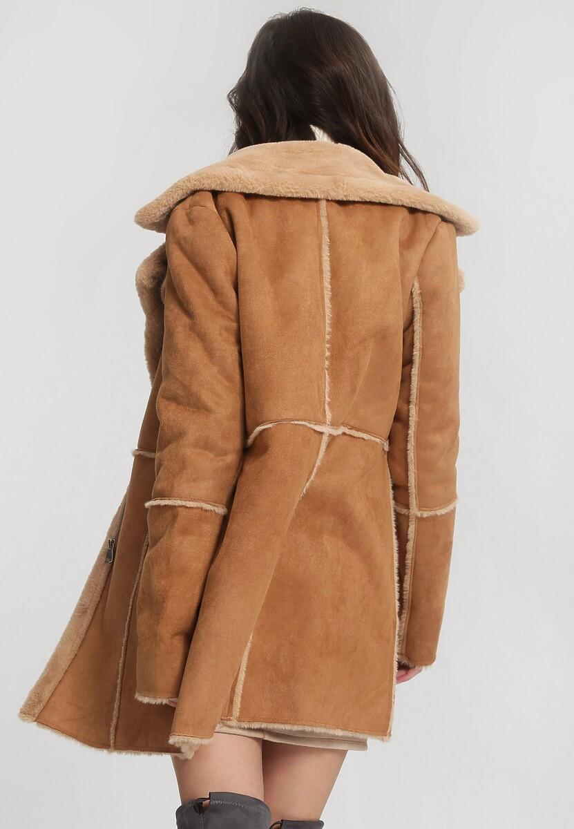 Camelowy Płaszcz Well-Lighted