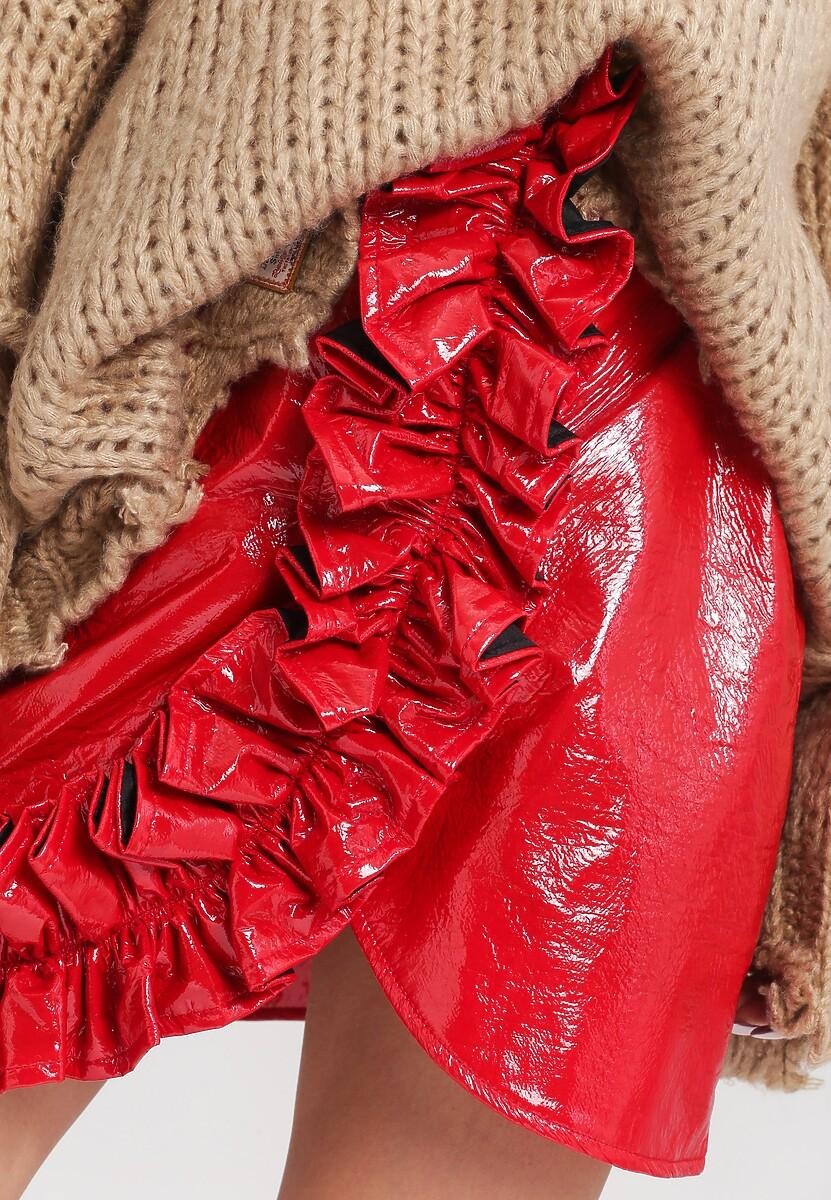 Czerwona Spódnica Nicole - Limited Edition