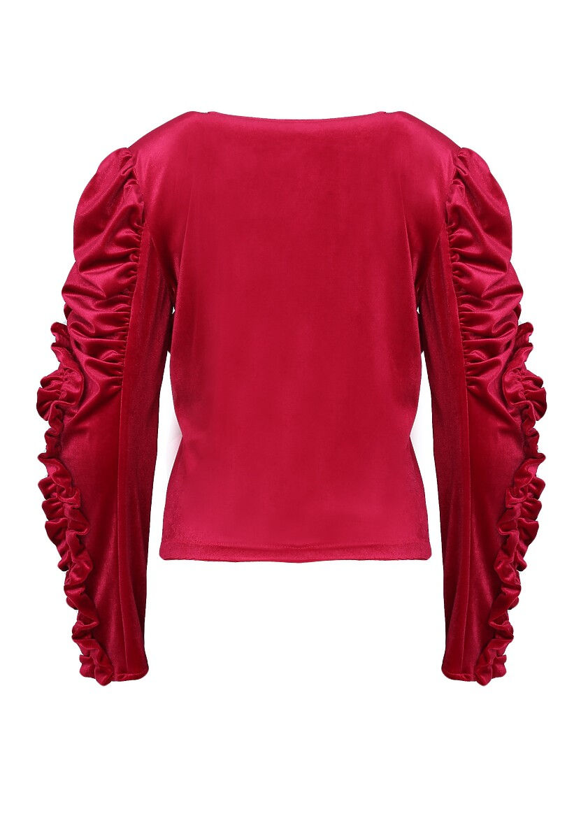 Czerwona Bluzka Aurora - Limited Edition