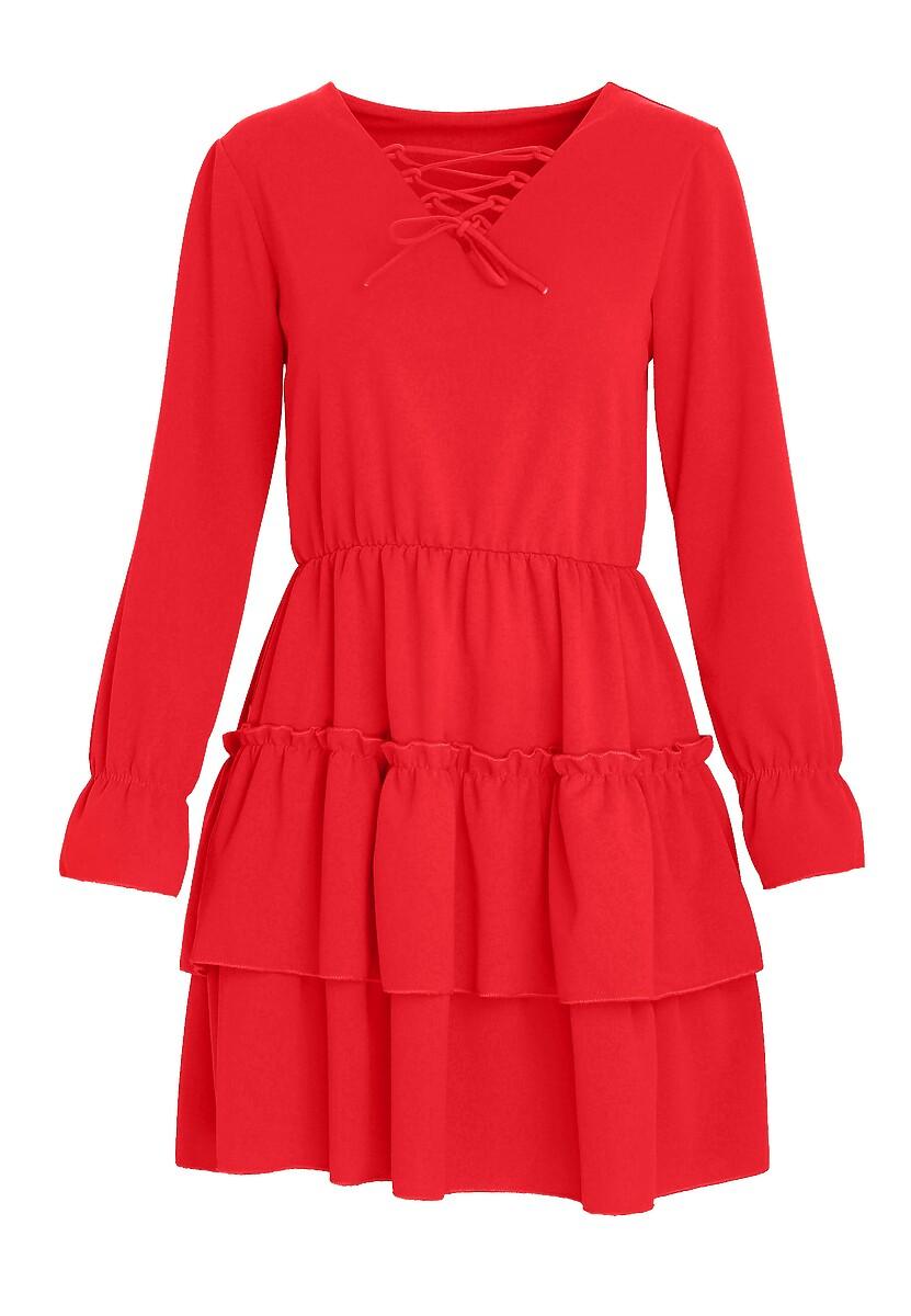 Czerwona Sukienka Loner