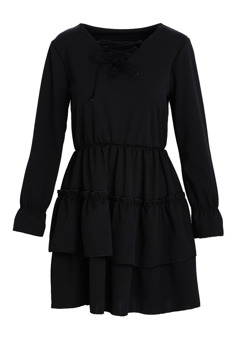 Czarna Sukienka Loner
