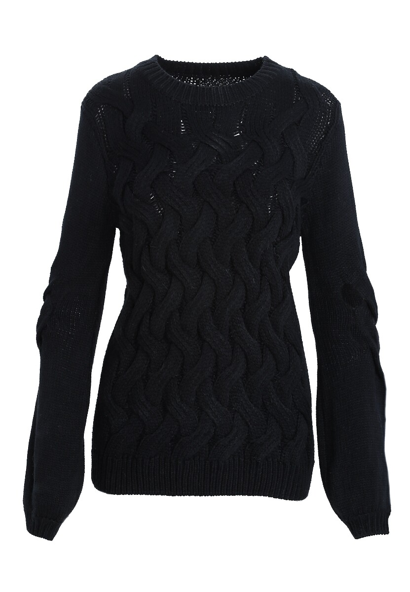 Czarny Sweter Seasoning