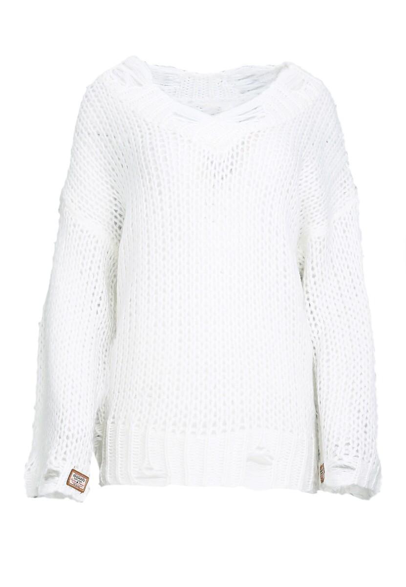 Kremowy Sweter Ovation