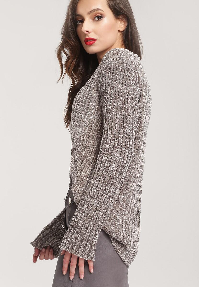 Szary Sweter Uninterrupted