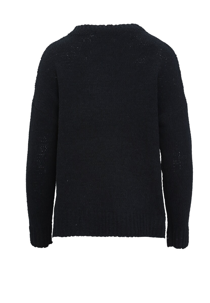 Czarny Sweter Stately