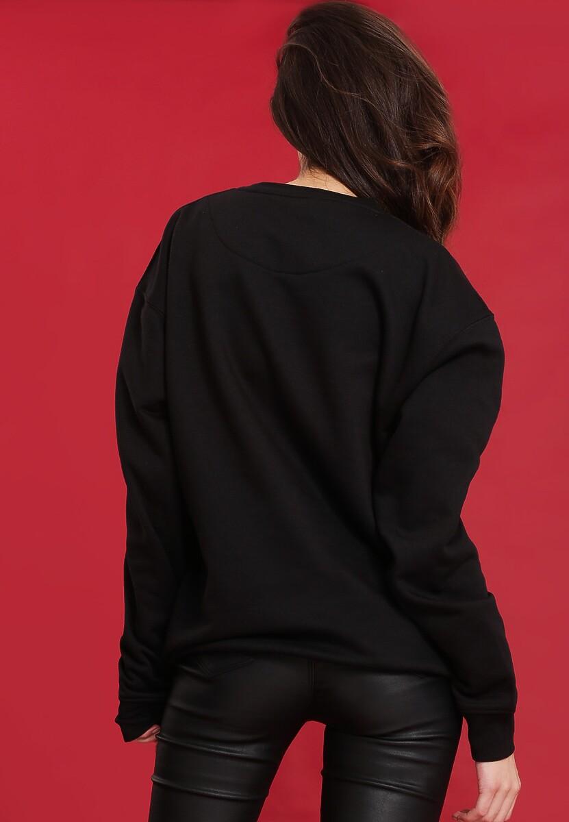 Czarna Bluza Draw