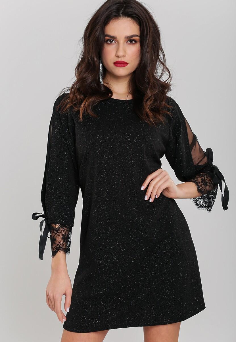 Czarna Sukienka Transcendent Kod produktu: 83041