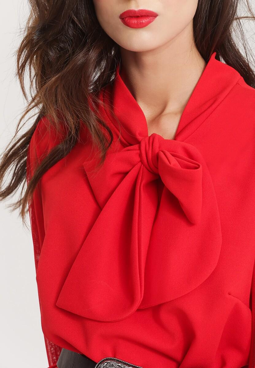 Czerwona Sukienka Alpine