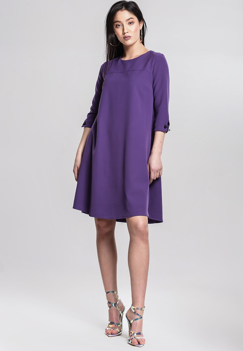 4c5b0f3fd4 Fioletowa Sukienka Superficially w Renee.pl