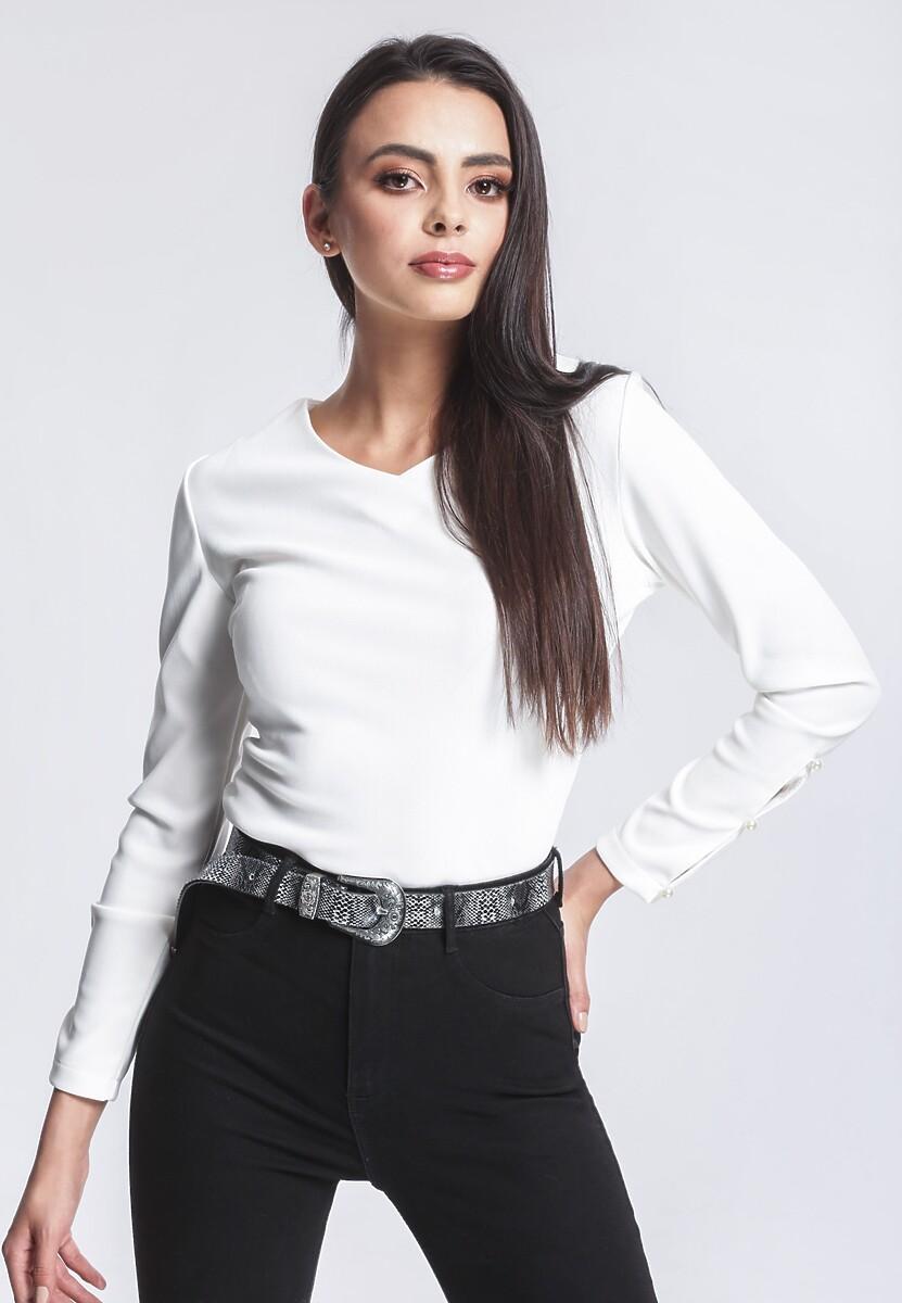 Biała Bluzka More Suitable