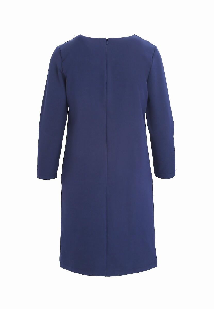 Granatowa Sukienka Intend