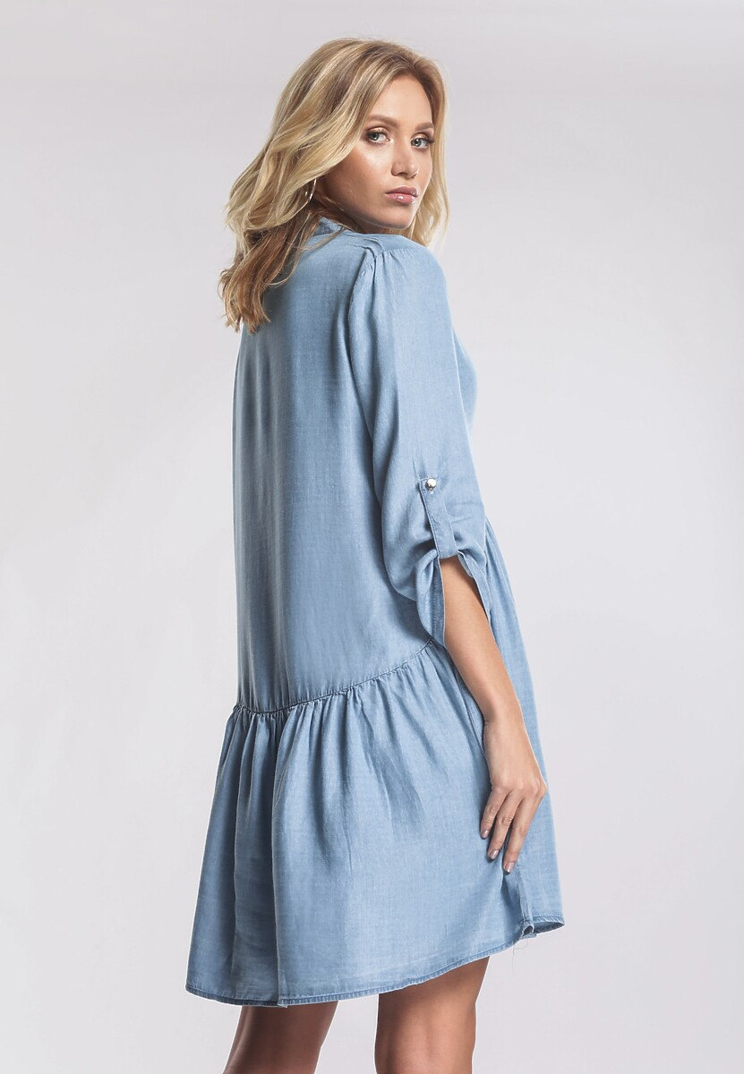 Niebieska Sukienka Extramundane