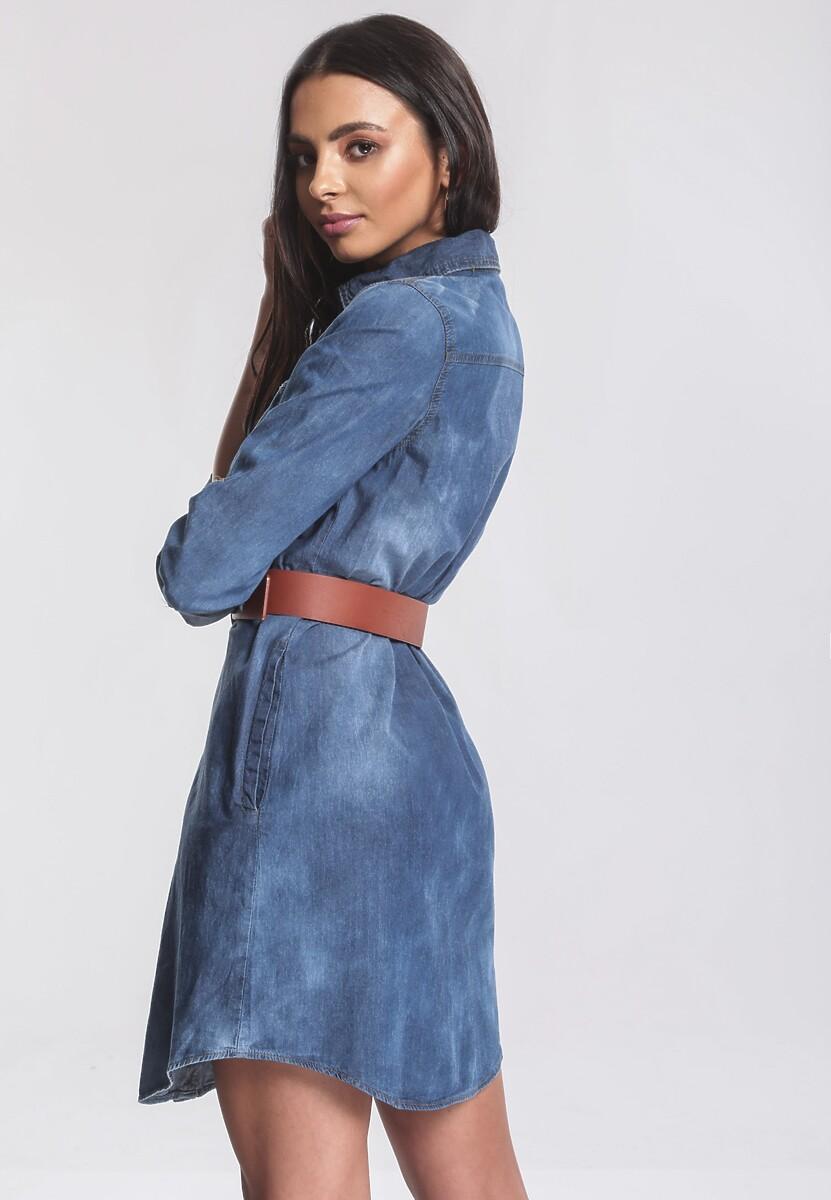 Niebieska Sukienka Dash