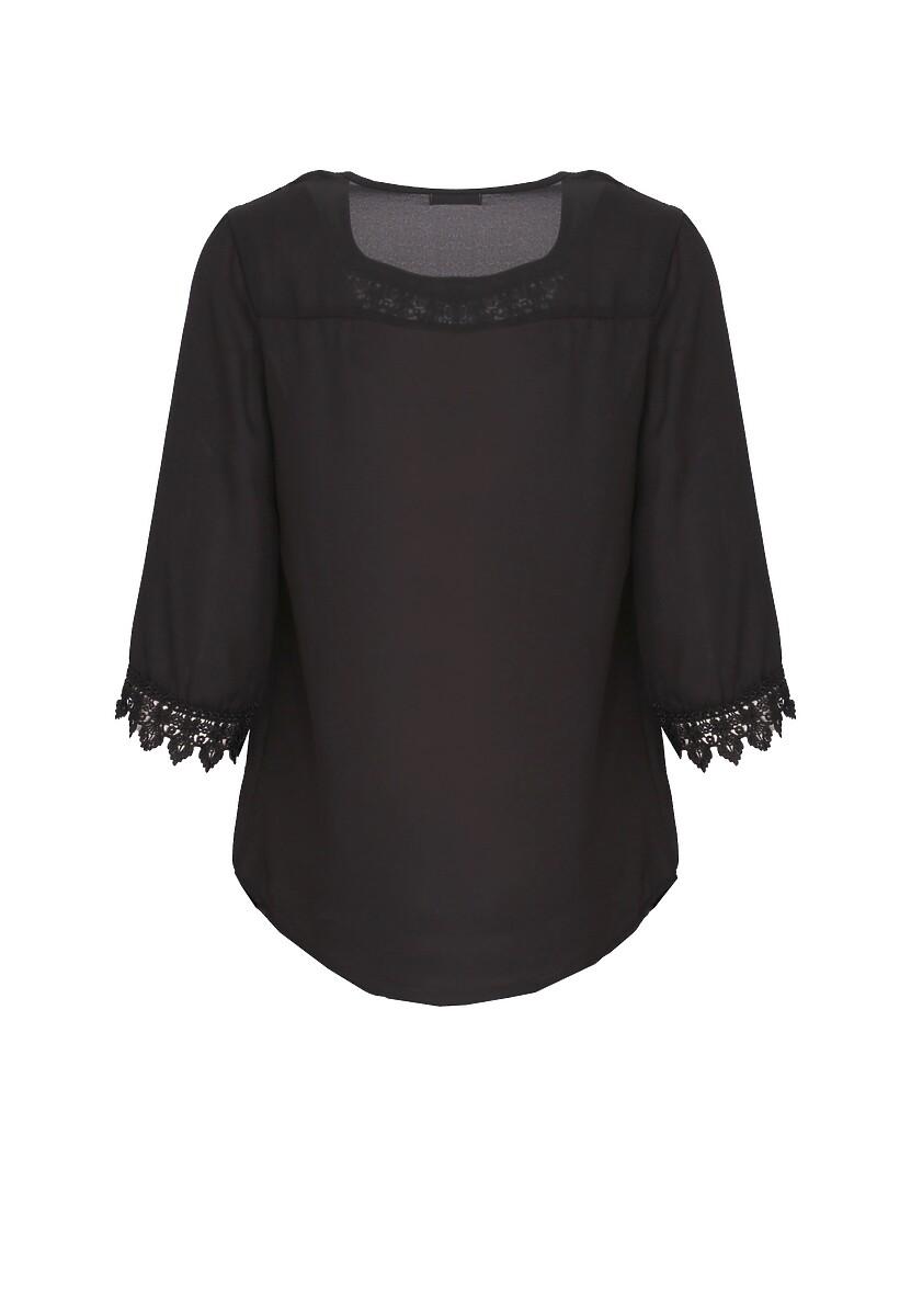 Czarna Koszula Aforethought