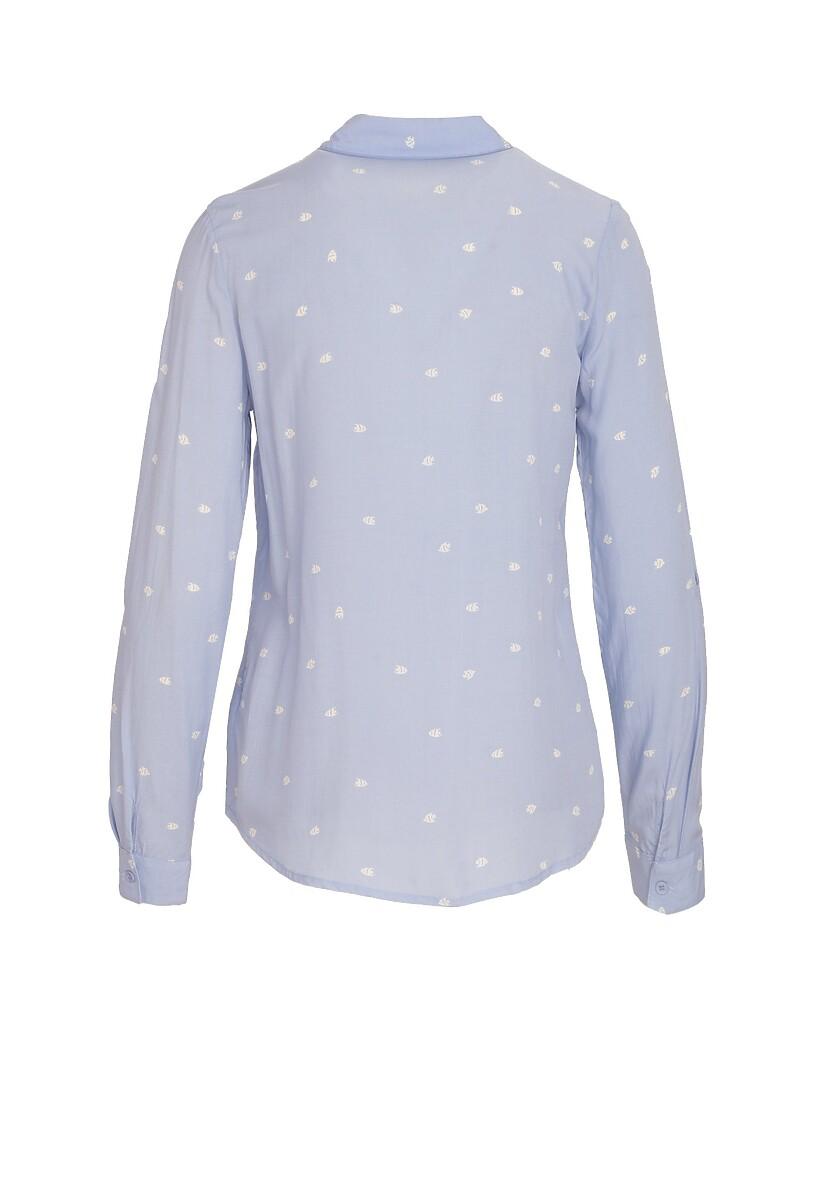 Jasnoniebieska Koszula Unbending