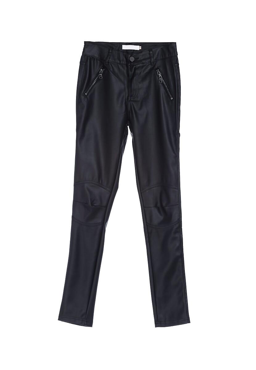 Czarne Spodnie Set